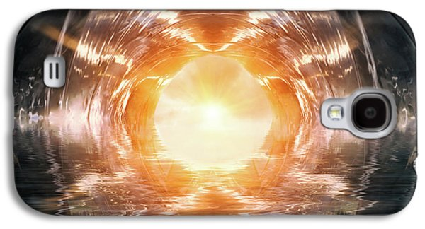 At The End Of The Tunnel Galaxy S4 Case by Wim Lanclus