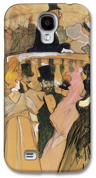 At The Opera Ball Galaxy S4 Case by Henri de Toulouse-Lautrec