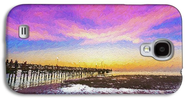 At The Pier Galaxy S4 Case by Marvin Spates