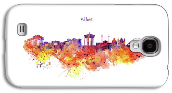 Athens Skyline Galaxy S4 Case