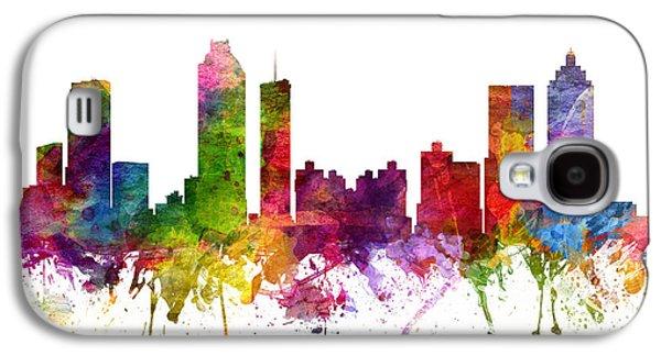 Atlanta Cityscape 06 Galaxy S4 Case