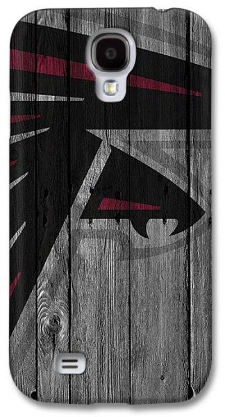Atlanta Falcons Wood Fence Galaxy S4 Case by Joe Hamilton