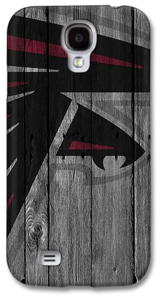 Atlanta Falcons Wood Fence Galaxy S4 Case