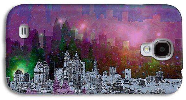 Travel Galaxy S4 Case - Atlanta Skyline 7 by Alberto RuiZ