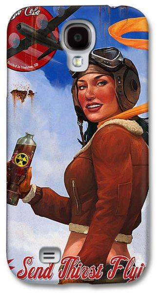 Atom Bomb Cola Send Thirst Flying Galaxy S4 Case