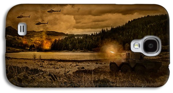 Attack At Nightfall Galaxy S4 Case by Amanda Elwell