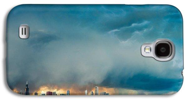 Skyline Galaxy S4 Case - Attention Seeking Clouds by Cory Dewald