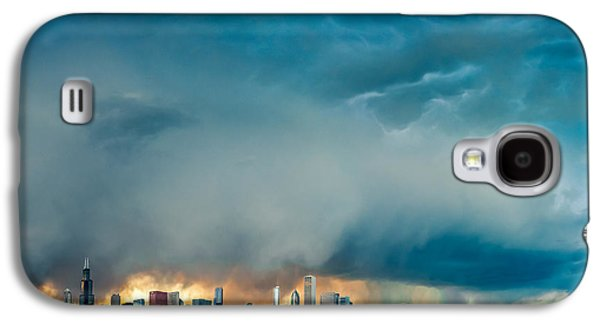 Attention Seeking Clouds Galaxy S4 Case by Cory Dewald