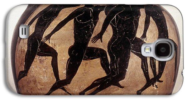 Attic Black-figured Vase Galaxy S4 Case by Granger