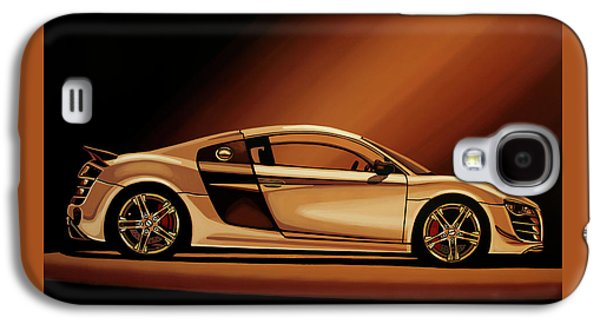 Car Galaxy S4 Case - Audi R8 2007 Painting by Paul Meijering