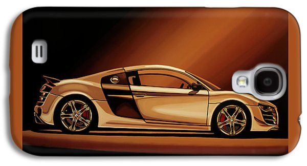 Audi R8 2007 Painting Galaxy S4 Case by Paul Meijering