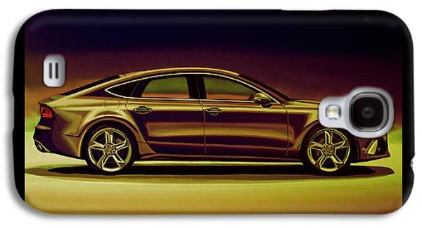 Audi Rs7 2013 Mixed Media Galaxy S4 Case