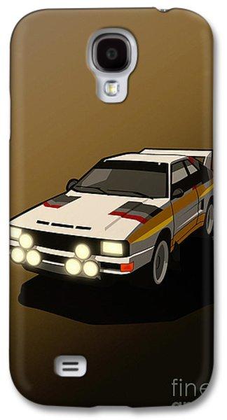 Audi Sport Quattro Ur-quattro Rally Poster Galaxy S4 Case by Monkey Crisis On Mars