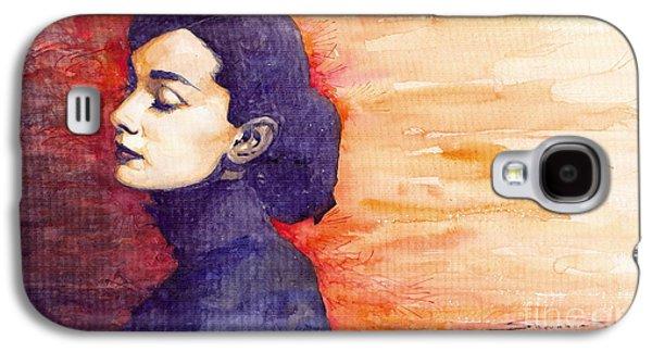 Audrey Hepburn 1 Galaxy S4 Case