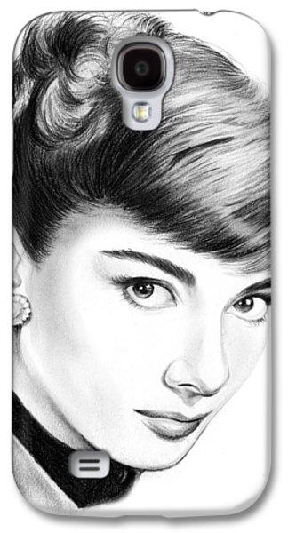 Audrey Hepburn Galaxy S4 Case by Greg Joens