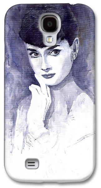 Audrey Hepburn  Galaxy S4 Case by Yuriy  Shevchuk