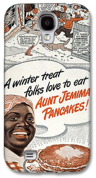 African-american Galaxy S4 Cases - Aunt Jemima Ad, 1948 Galaxy S4 Case by Granger