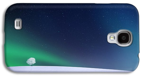 Aurora Galaxy S4 Case by Bess Hamiti
