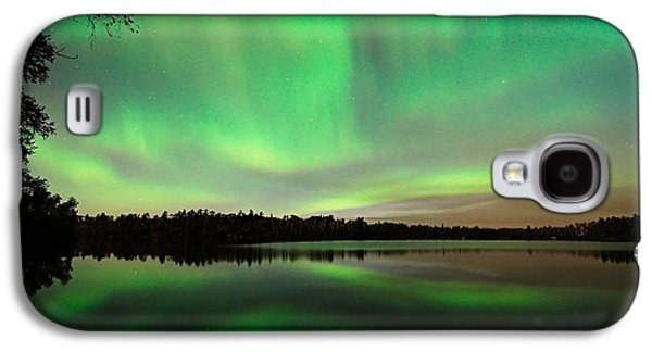 Aurora Over Tofte Lake Galaxy S4 Case