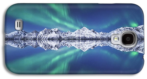 Aurora Square Galaxy S4 Case by Tor-Ivar Naess