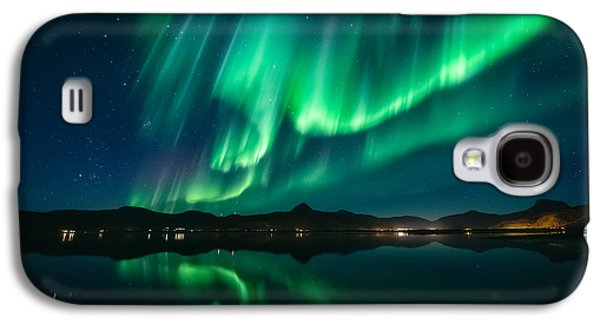 Aurora Surprise Galaxy S4 Case by Tor-Ivar Naess