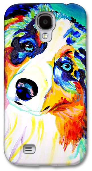Aussie - Moonie Galaxy S4 Case by Alicia VanNoy Call