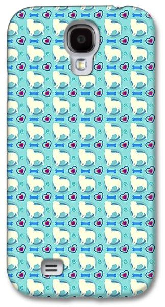 Aussie Dog Pattern Galaxy S4 Case