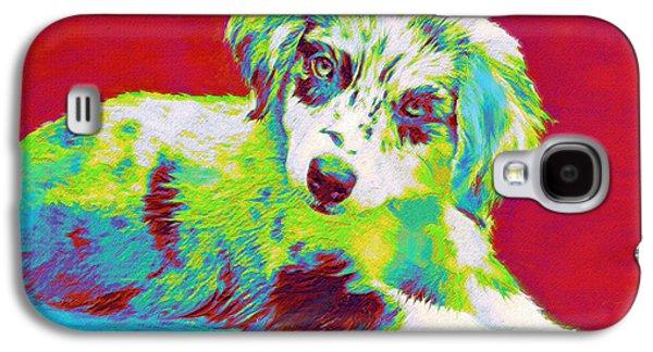 Aussie Puppy Galaxy S4 Case