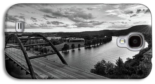 Austin 360 Pennybacker Bridge Sunset Galaxy S4 Case