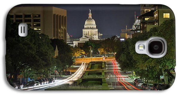 Austin Light Trails Galaxy S4 Case by Tim Stanley