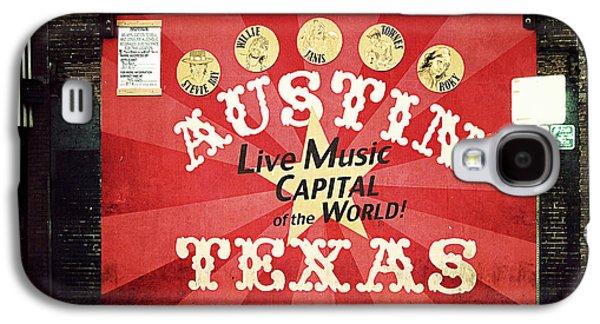 Austin Live Music Galaxy S4 Case