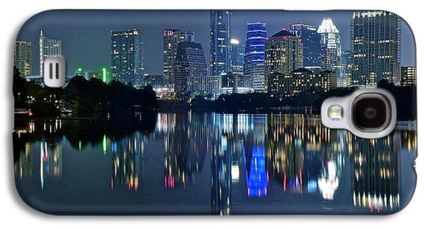 Austin Night Reflection Galaxy S4 Case