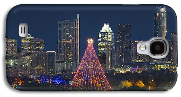 Austin Panorama Of The Trail Of Lights And Skyline Galaxy S4 Case