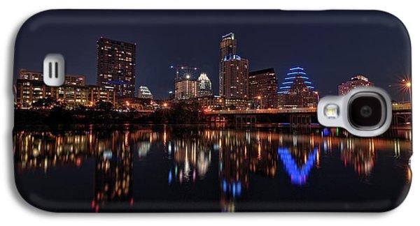Austin Skyline At Night Galaxy S4 Case