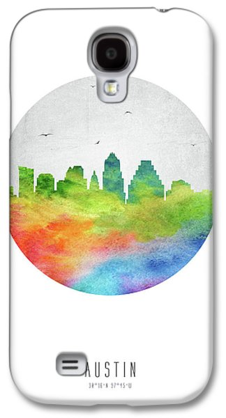 Austin Skyline Ustxau20 Galaxy S4 Case by Aged Pixel