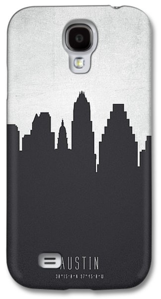 Austin Texas Cityscape 19 Galaxy S4 Case by Aged Pixel