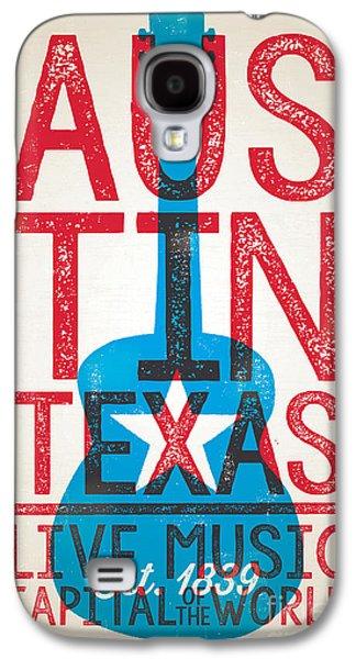 Austin Texas - Live Music Galaxy S4 Case by Jim Zahniser