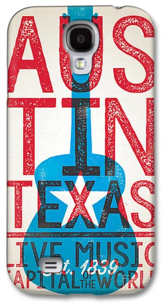 Austin Texas - Live Music Galaxy S4 Case
