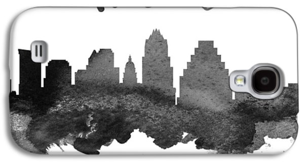 Austin Texas Skyline 18 Galaxy S4 Case by Aged Pixel