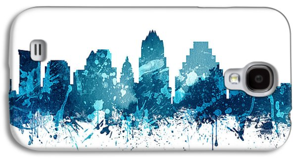 Austin Texas Skyline 19 Galaxy S4 Case by Aged Pixel