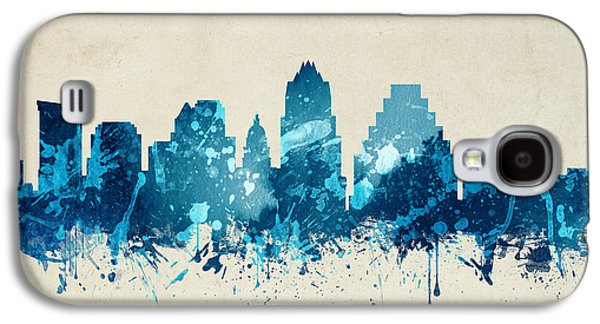 Austin Texas Skyline 20 Galaxy S4 Case by Aged Pixel