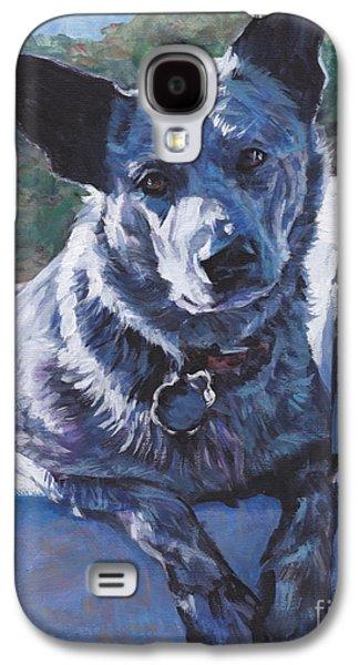 Australian Cattle Dog Blue Heeler Galaxy S4 Case by Lee Ann Shepard