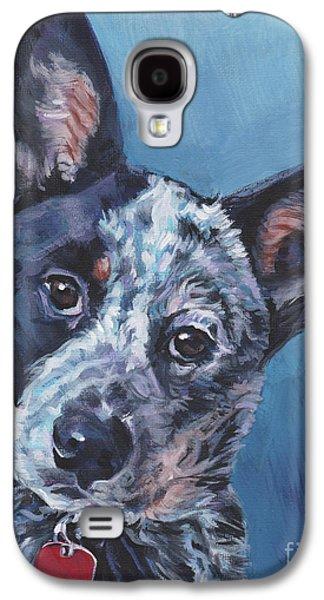 Australian Cattle Dog Galaxy S4 Case by Lee Ann Shepard