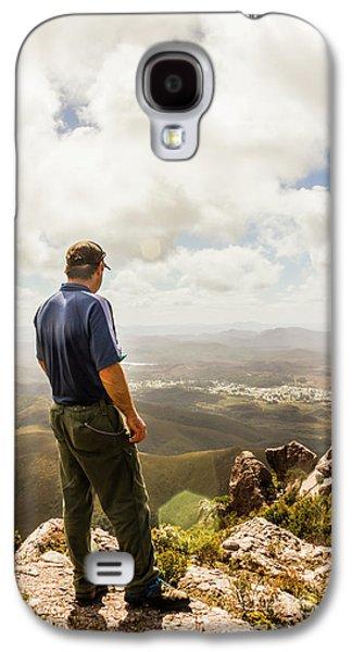 Australian Explorer Sightseeing Mt Zeehan Galaxy S4 Case by Jorgo Photography - Wall Art Gallery
