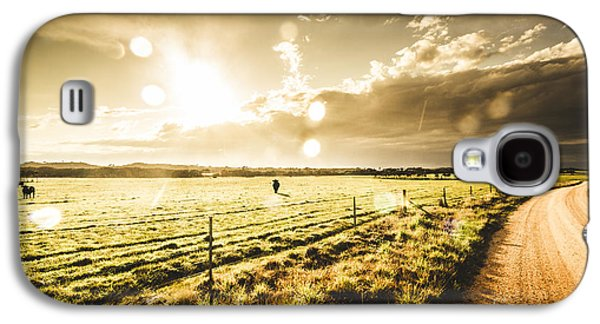 Australian Rural Dirt Road  Galaxy S4 Case