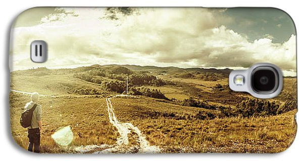 Australian Rural Panoramic Landscape Galaxy S4 Case by Jorgo Photography - Wall Art Gallery