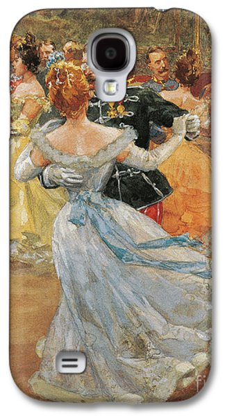 Austria, Vienna, Emperor Franz Joseph I Of Austria At The Annual Viennese Ball  Galaxy S4 Case by Wilhelm Gause