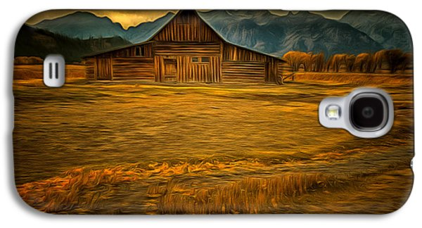 Autum At The Moulton Barn Galaxy S4 Case