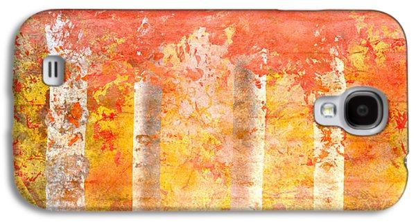 Autumn Aspens Galaxy S4 Case by Brett Pfister