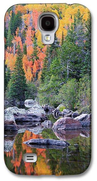 Autumn At Bear Lake Galaxy S4 Case by David Chandler